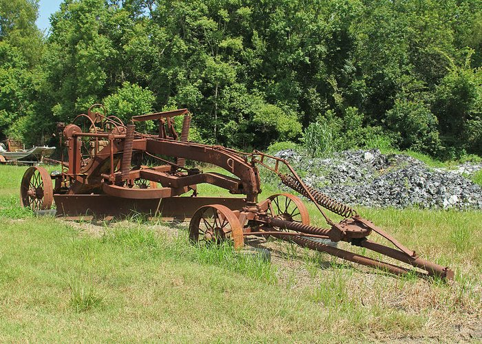 Old Farm Plow Photograph By Ronald Olivier