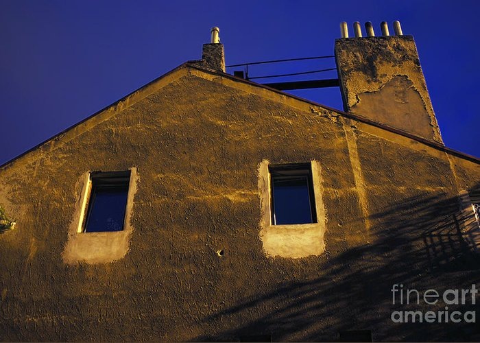 Old Greeting Card featuring the photograph Old House by Sarka Olehlova
