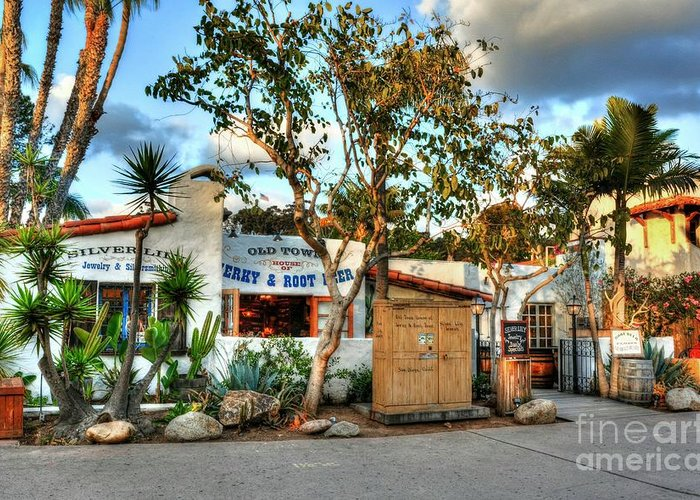 Old Town San Diego Greeting Cards