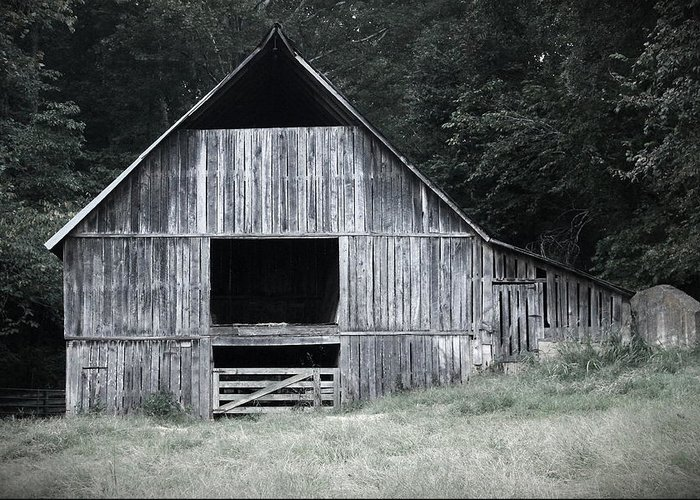 Barn Greeting Card featuring the photograph Old Wooden Barn by Andrew Dyer Photography