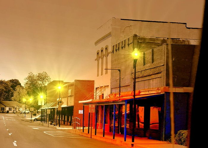 Beebe Greeting Card featuring the photograph Olden Days Of Beebe Arkansas by Kim Loftis