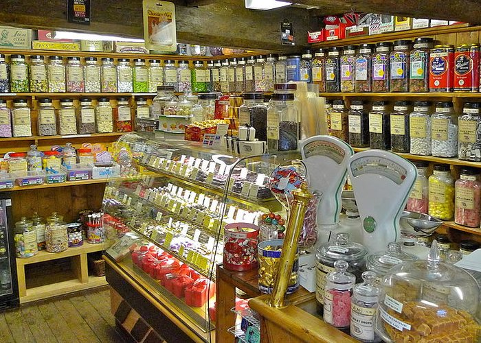 Oldest sweet shop in the world greeting card for sale by dwight pinkley oldest greeting card featuring the photograph oldest sweet shop in the world by dwight pinkley m4hsunfo