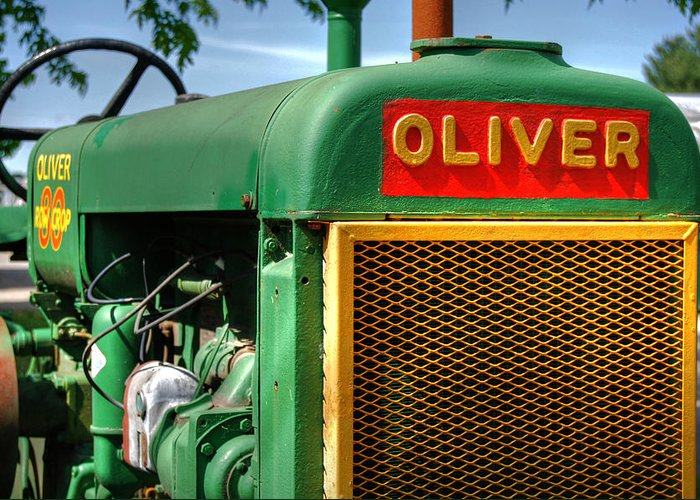Oliver Greeting Card featuring the photograph Oliver by Guy Harnett