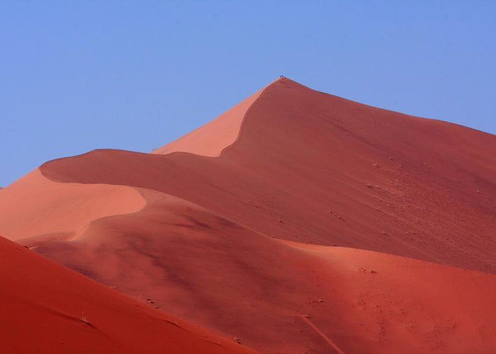 Namib Greeting Card featuring the photograph On Top Of The World by Aidan Moran