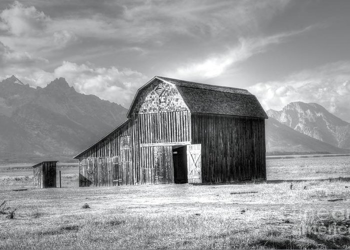 Grand Teton Greeting Card featuring the photograph Open Door by Kathleen Struckle