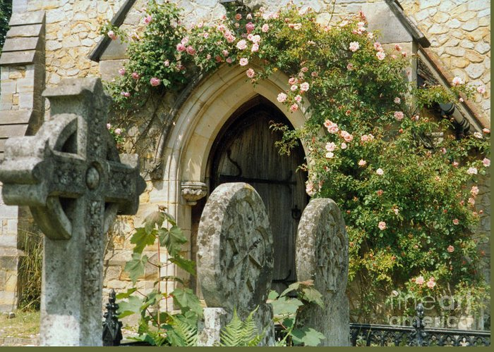 Church Greeting Card featuring the photograph Open Paths by Christine Jepsen
