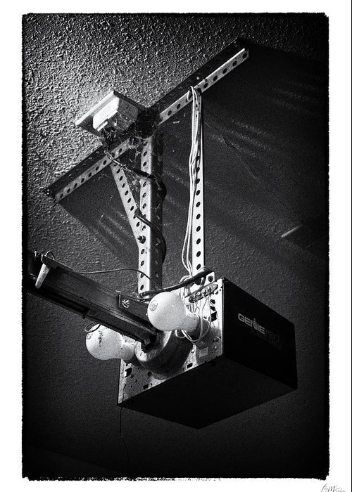 Grunge Greeting Card featuring the photograph Open Up - Art Unexpected by Tom Mc Nemar