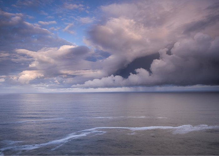 Clouds Greeting Card featuring the photograph Opening Clouds by Andrew Soundarajan