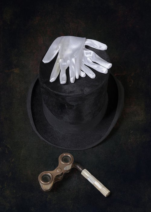 Top Hat Greeting Card featuring the photograph Opera by Joana Kruse