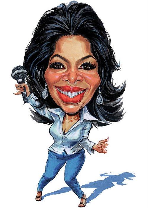 Oprah Greeting Cards