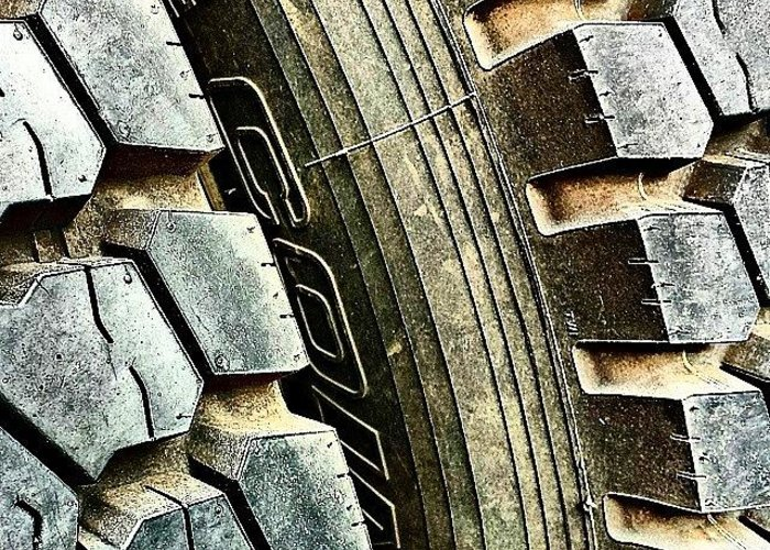 Flick Greeting Card featuring the photograph Optimus Prime's Tyres. #movies by J Love