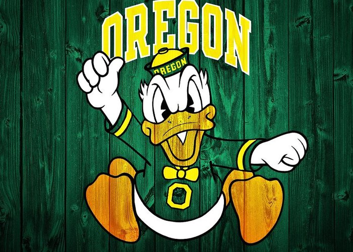 Oregon Ducks Greeting Cards