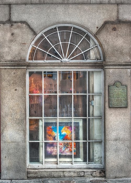 French Quarter Greeting Card featuring the photograph Original Art For Sale by Brenda Bryant