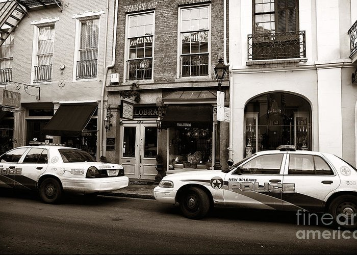 Orleans Pd Greeting Card featuring the photograph Orleans Pd by John Rizzuto