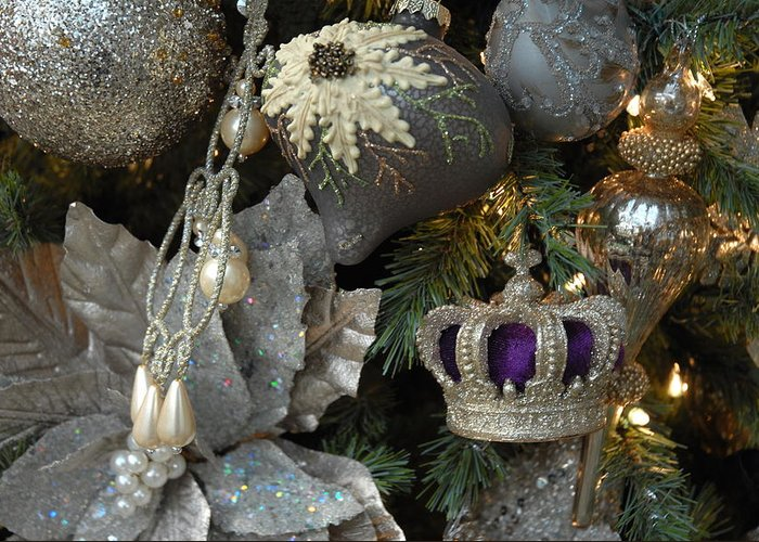 Christmas Ornament Ornament Greeting Card featuring the photograph Ornament 164 by Joyce StJames