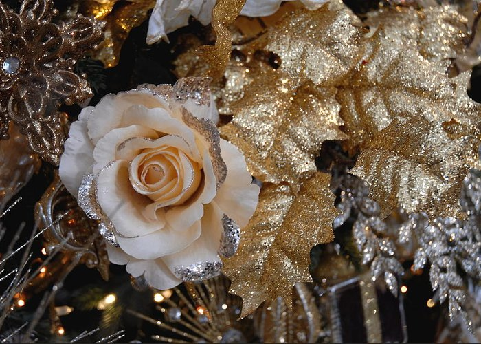 Christmas Ornament Ornament Greeting Card featuring the photograph Ornament 166 by Joyce StJames