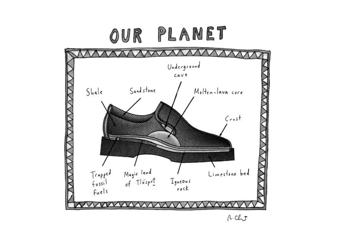 Our Planet Greeting Cards