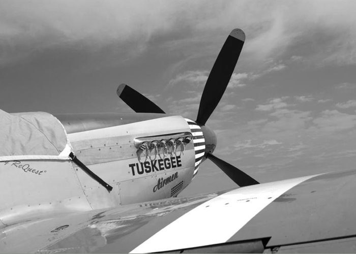 Transportation Airplanes Flying Planes Vintage Fighters Greeting Card featuring the photograph Out Of The Past Bw by Marilyn Atwell