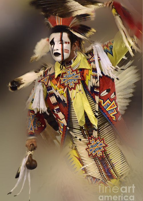 Pow Wow Greeting Card featuring the photograph Out Of Time by Bob Christopher
