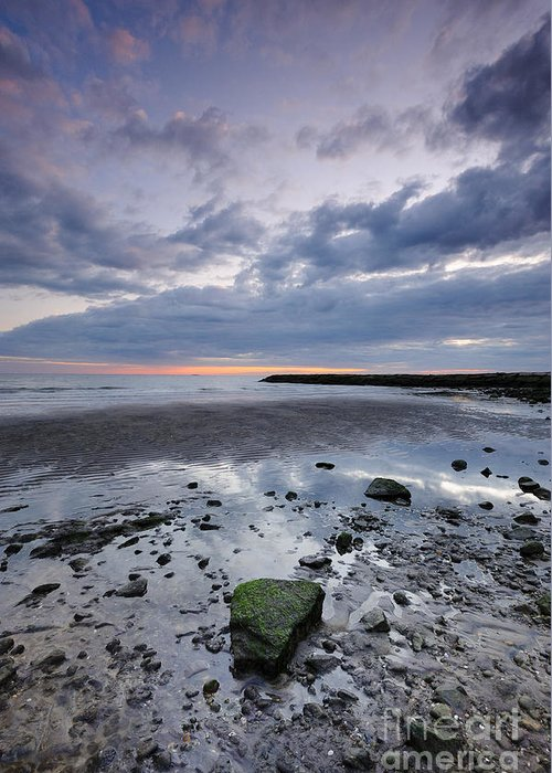 Water Greeting Card featuring the photograph Out To Sea by Fran McMullen