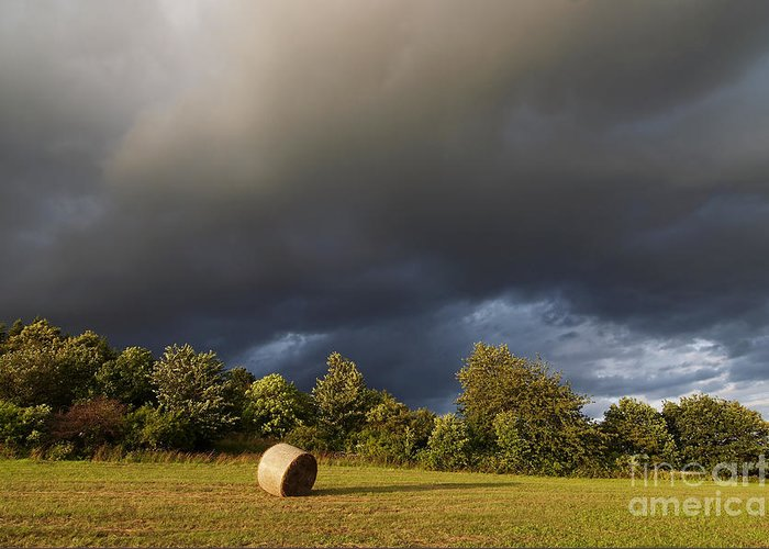 Overcast Greeting Card featuring the photograph Overcast - Before Rain by Michal Boubin