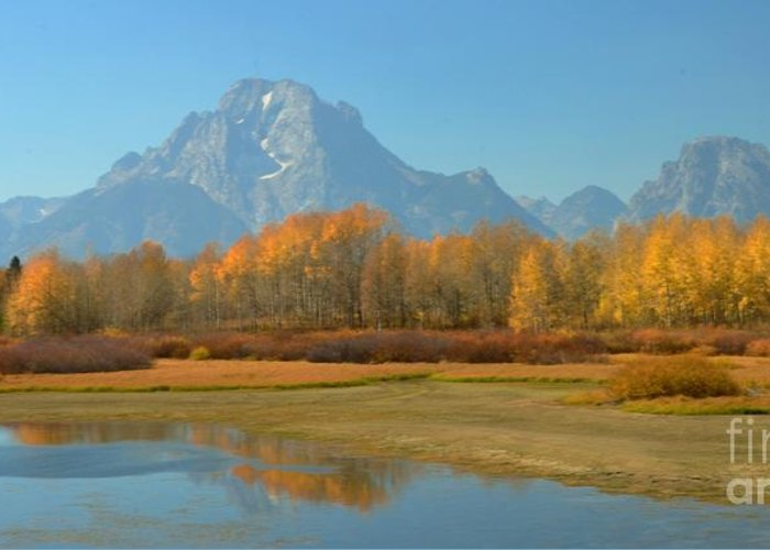 Oxbow Greeting Card featuring the photograph Oxbow Bend by Kathleen Struckle