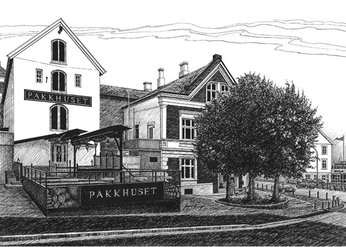 Pakkhuset Greeting Cards