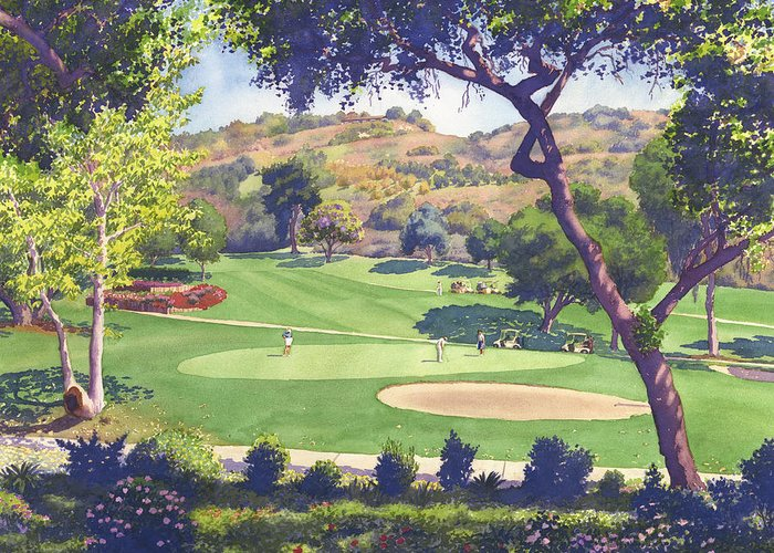 Golf Course Greeting Cards