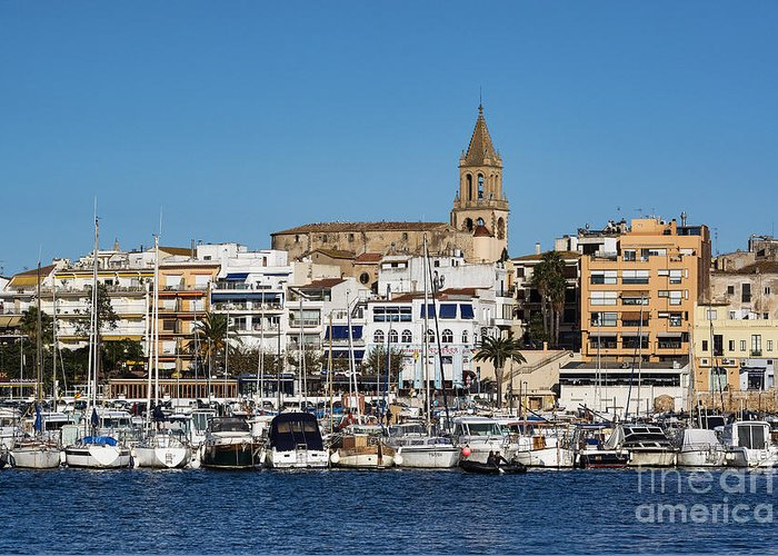 Catalonia Greeting Card featuring the photograph Palamos Spain by John Greim