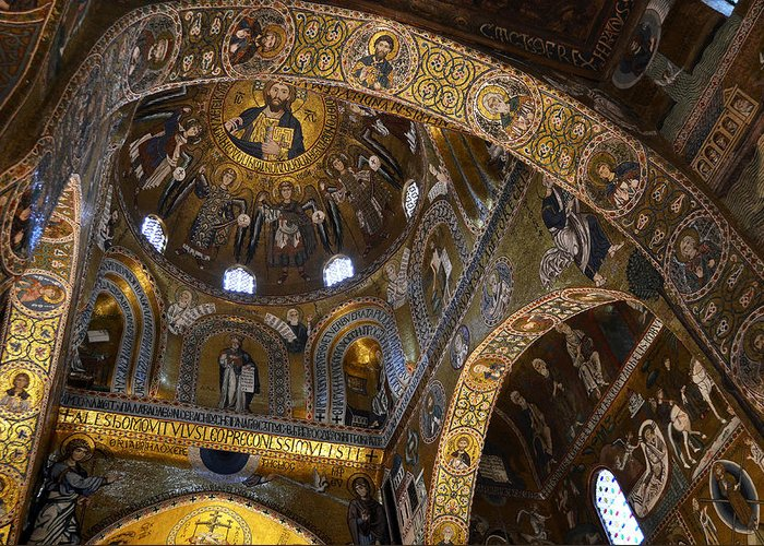 Palace Greeting Card featuring the photograph Palatine Chapel by RicardMN Photography