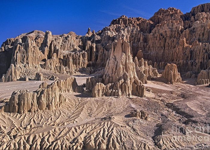 Panaca Formations In Cathedral Gorge State Park Nevada Greeting ...