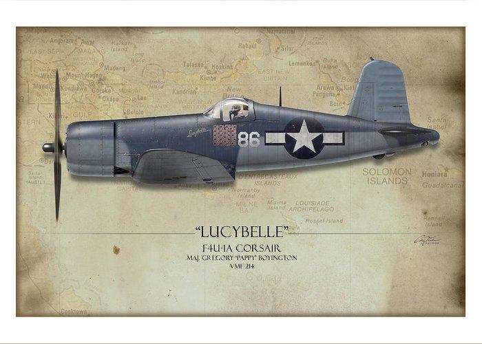 Aircraft Profiles Greeting Cards