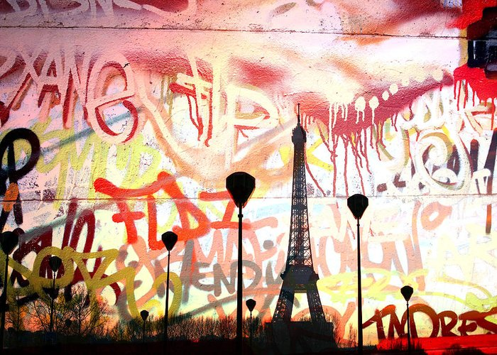 Paris Greeting Card featuring the photograph Paris 15 by Jean Schweitzer