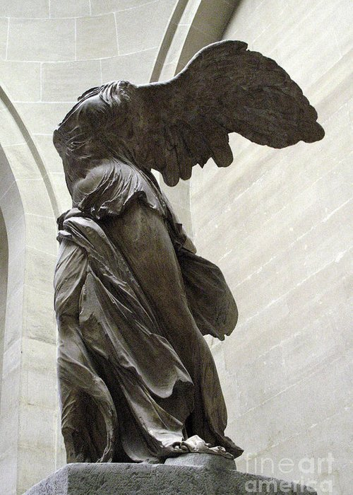 Winged Victory Greeting Cards