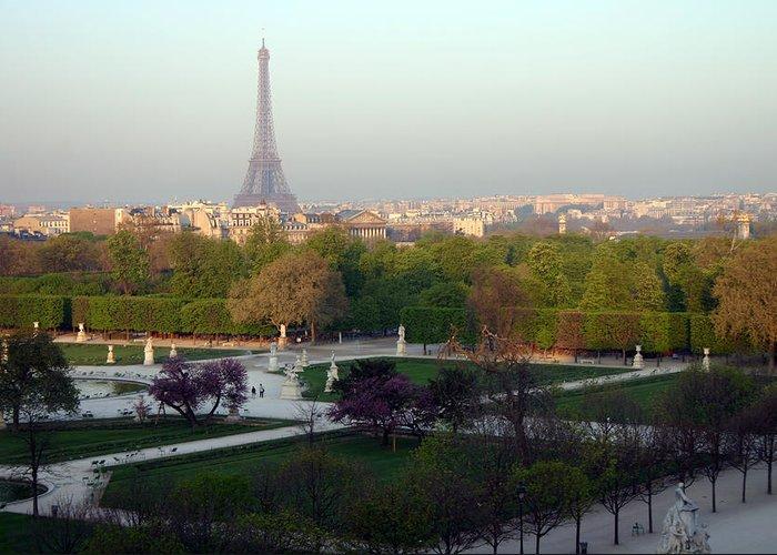 Paris Greeting Card featuring the photograph Paris Autumn by A Morddel