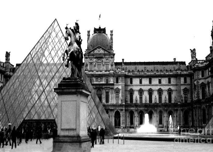 Louvre Greeting Cards