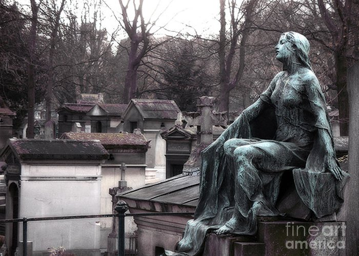 Pere La Chaise Greeting Cards