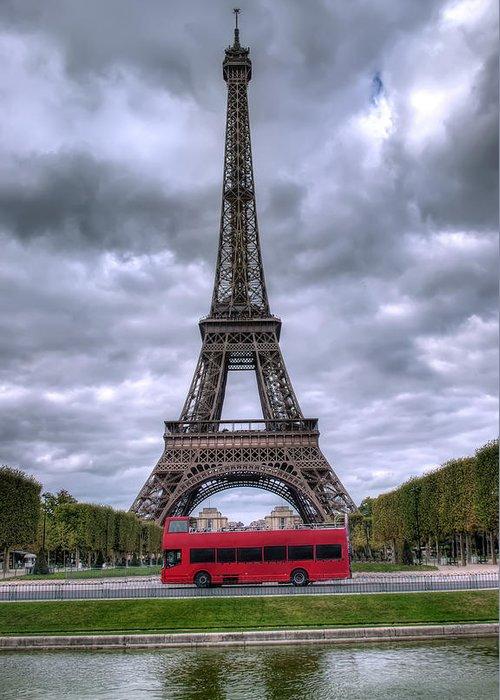 Paris Greeting Card featuring the photograph Paris by Ioan Panaite