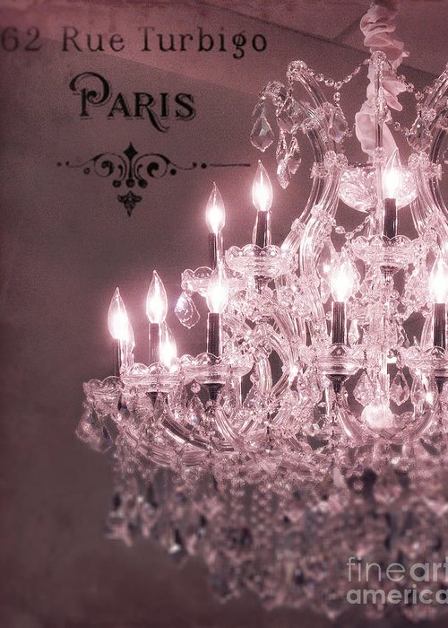 Crystal Chandelier Greeting Cards