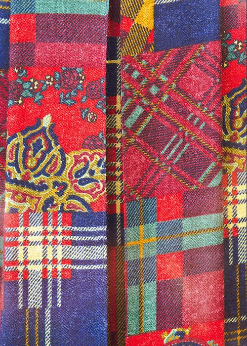 Tartan Quilts Greeting Cards
