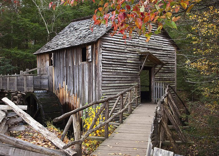 Mill Greeting Card featuring the photograph Path To The Mill by Andrew Soundarajan