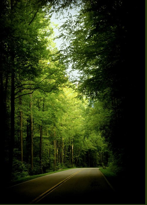 Smokey Mountain Drive Photographs Greeting Cards