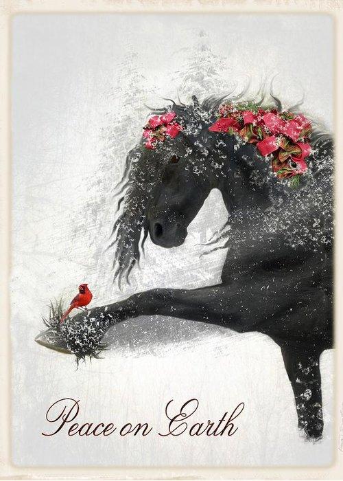 Christmas Card Digital Art Greeting Cards