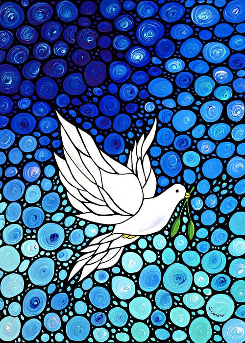 Peace Doves Greeting Cards