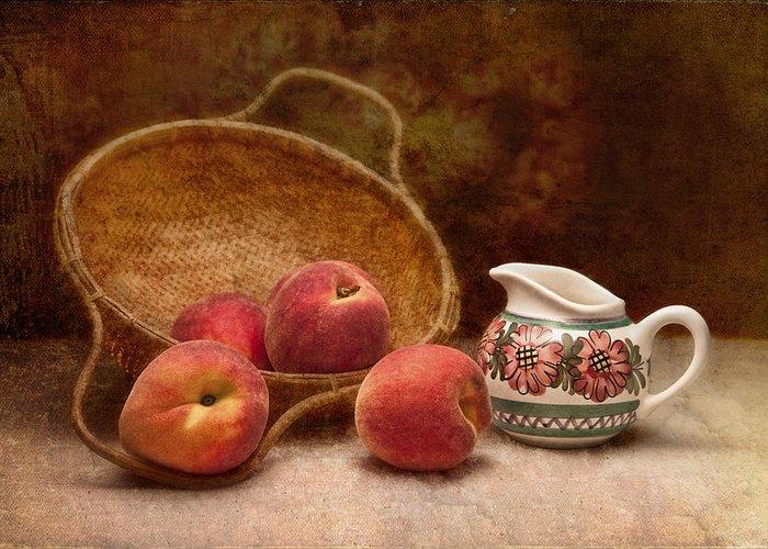 Prunus Persica Greeting Cards