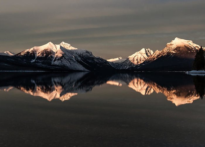 Winter Greeting Card featuring the photograph Peaks by Aaron Aldrich