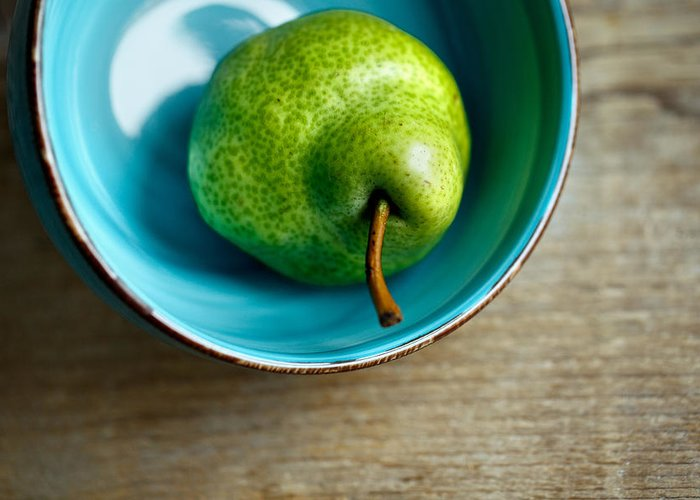 Pear Greeting Card featuring the photograph Pears by Nailia Schwarz