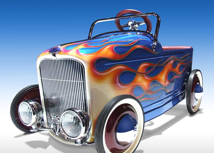 Hot Rod Art Greeting Cards