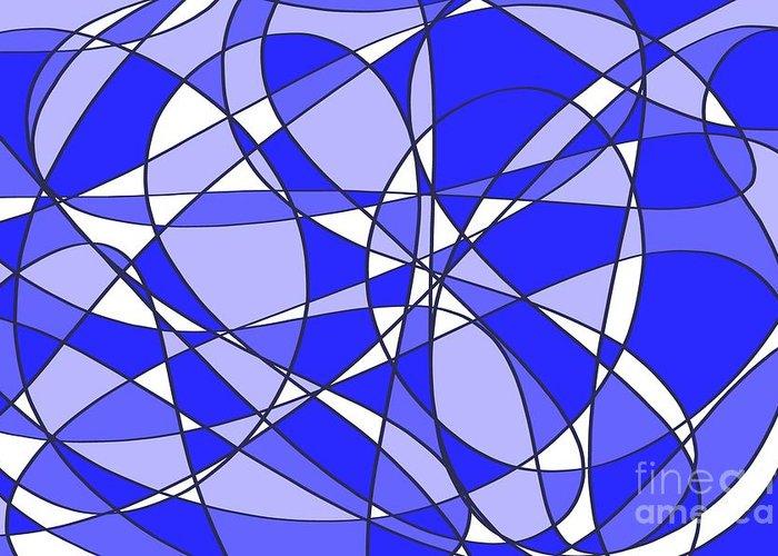 Digital Art Greeting Card featuring the digital art Pen At Play 3 by Lyle Bonn
