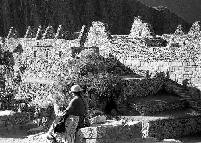 Peru Greeting Card featuring the photograph Peru My Land by Lynn R Morris